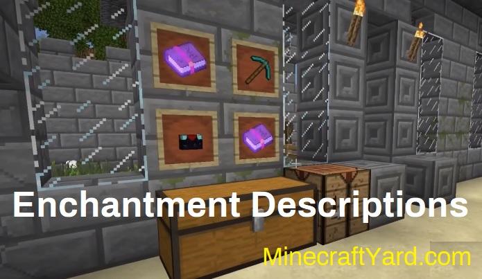 Enchantment Descriptions 1.15.1/1.14.4/1.13.2