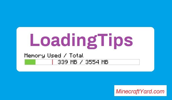 LoadingTips Mod 1.14.4/1.13.2