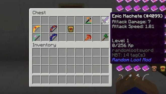 Random Loot Mod golden bag