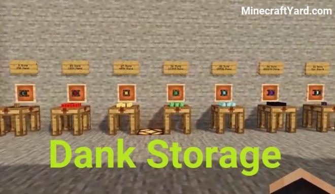 Dank Storage Mod 1.15.2/1.14.4