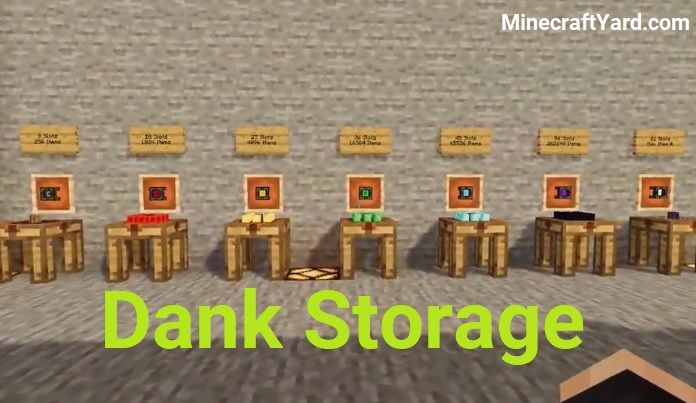 Dank Storage Mod 1.16.5/1.15.2
