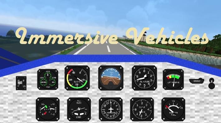 Immersive Vehicles 1.16.3/1.15.2