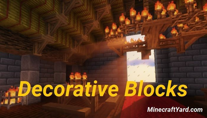 Decorative Blocks Mod 1.16.5/1.15.2