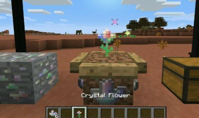 Electroblob's Wizardry Mod crystal flower