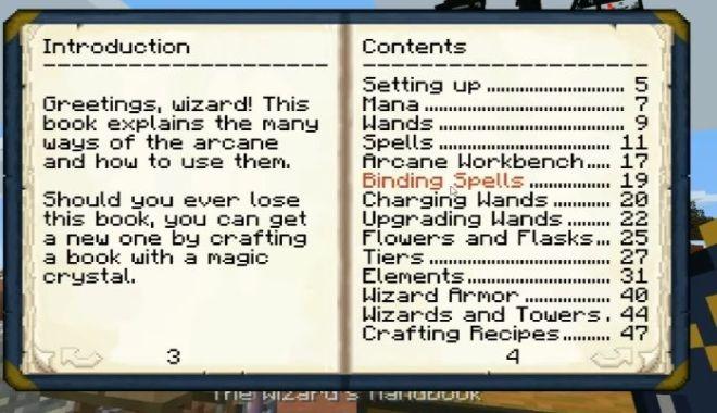 Electroblob's Wizardry Mod handbook