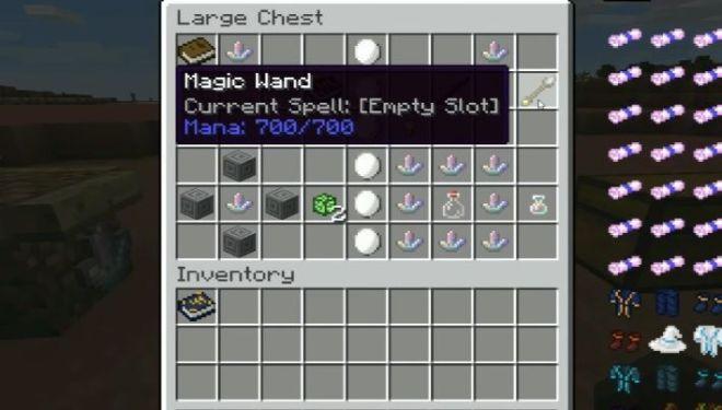 Electroblob's Wizardry Mod magic wand