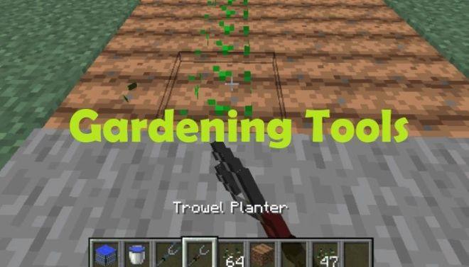 Gardening Tools 1.15.2/1.14.4