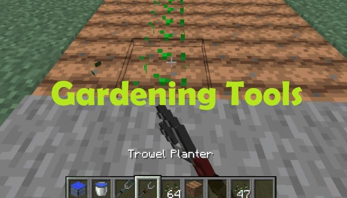 Gardening Tools 1.16.5/1.15.2