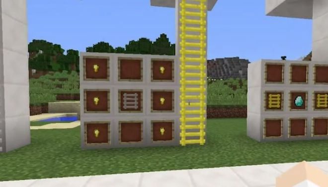Speedy Ladders Mod gold ladder