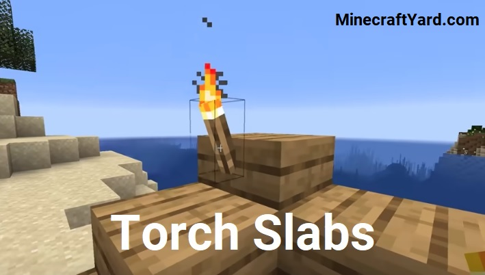 Torch Slabs Mod 1.16.5/1.15.2