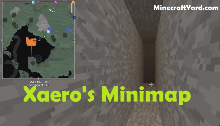Xaero's Minimap 1.16.4/1.15.2