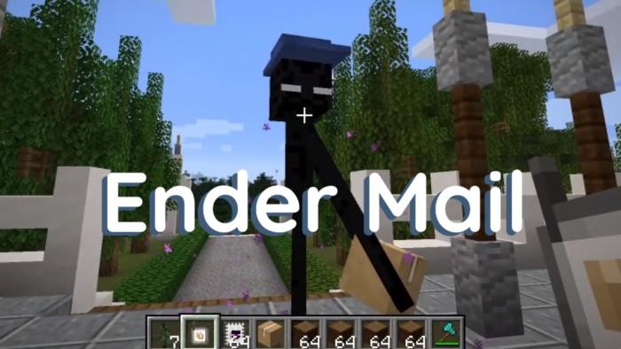 Ender Mail Mod 1.16.5/1.15.2