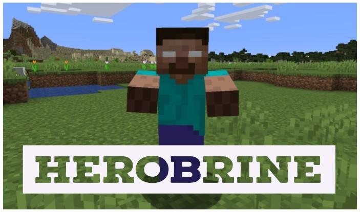 Herobrine Mod 1.16.5/1.15.2