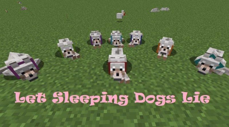 Let Sleeping Dogs Lie 1.16.5/1.15.2