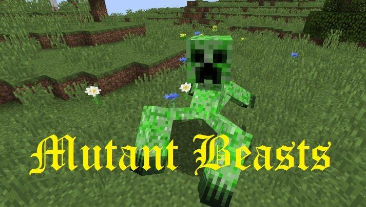 Mutant Beasts 1.16.5/1.15.2