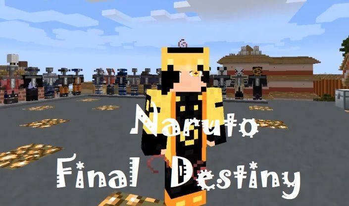 Naruto Final Destiny Mod 1.16.4/1.15.2