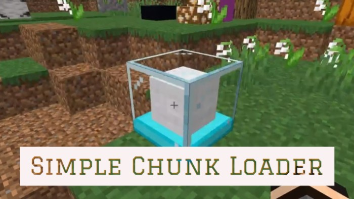 Simple Chunk Loaders 1.16.3/1.15.2