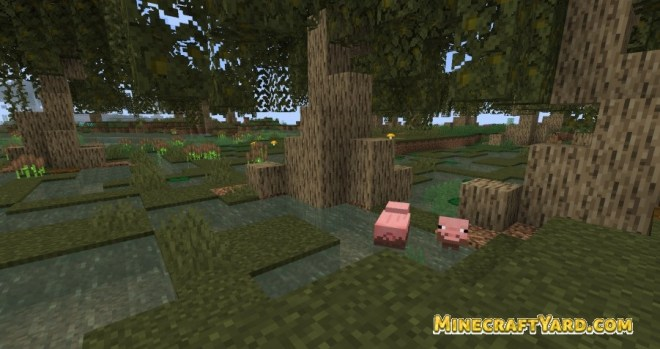 Better Default Biomes 1