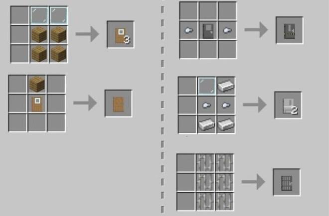 Macaw Doors crafting 4