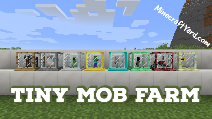 Tiny Mob Farm 1.16.3/1.15.2