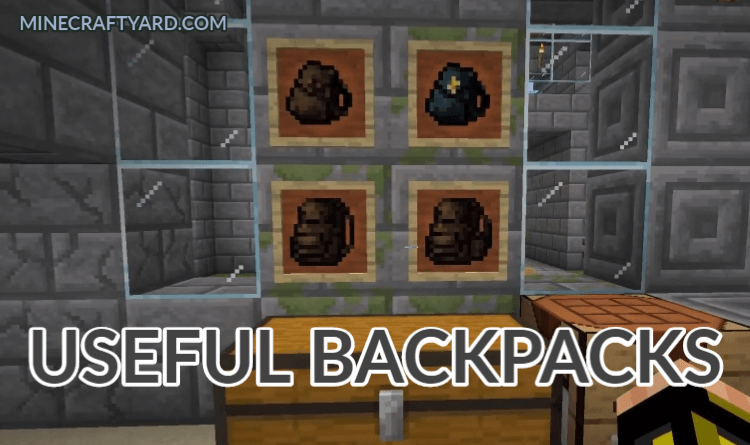 Useful Backpacks 1.16.4/1.15.2