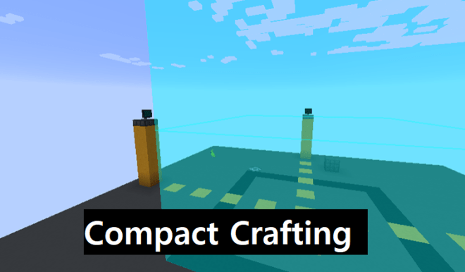 Compact Crafting Mod