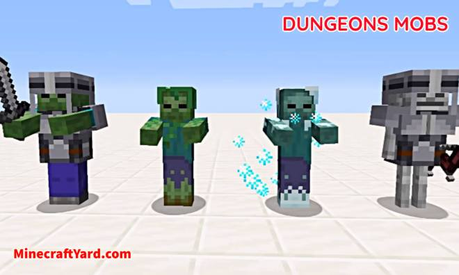 Dungeons Mobs Mod 7
