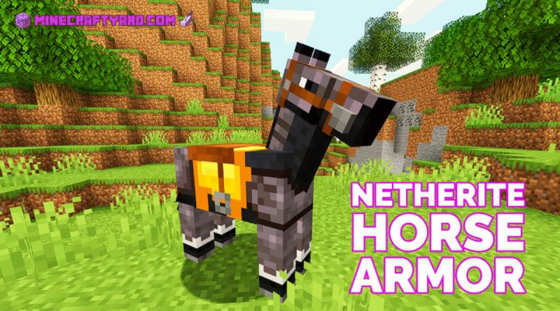 Netherite Horse Armor 1.16.5