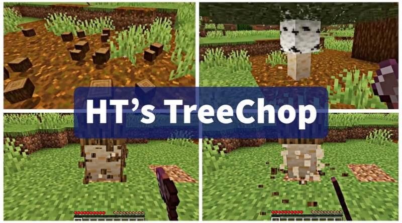 HT's TreeChop Mod 1.16.5