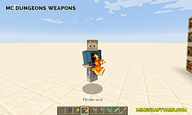 MC Dungeons Weapons Mod 8