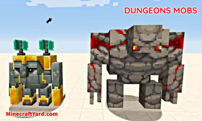 Dungeons Mobs Mod 1