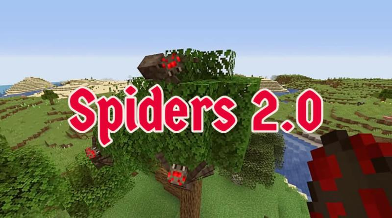Spiders 2.0 Mod 1.16.5