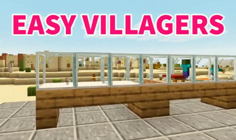 Easy Villagers Mod 1.16.5