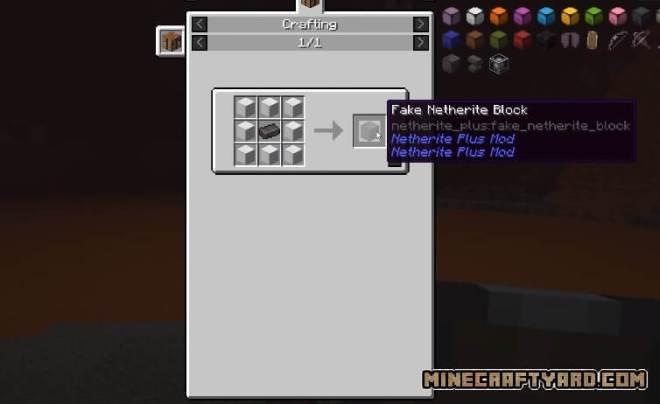 Netherite Plus Mod 5