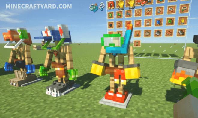 Curious Armor Stands Mod 1