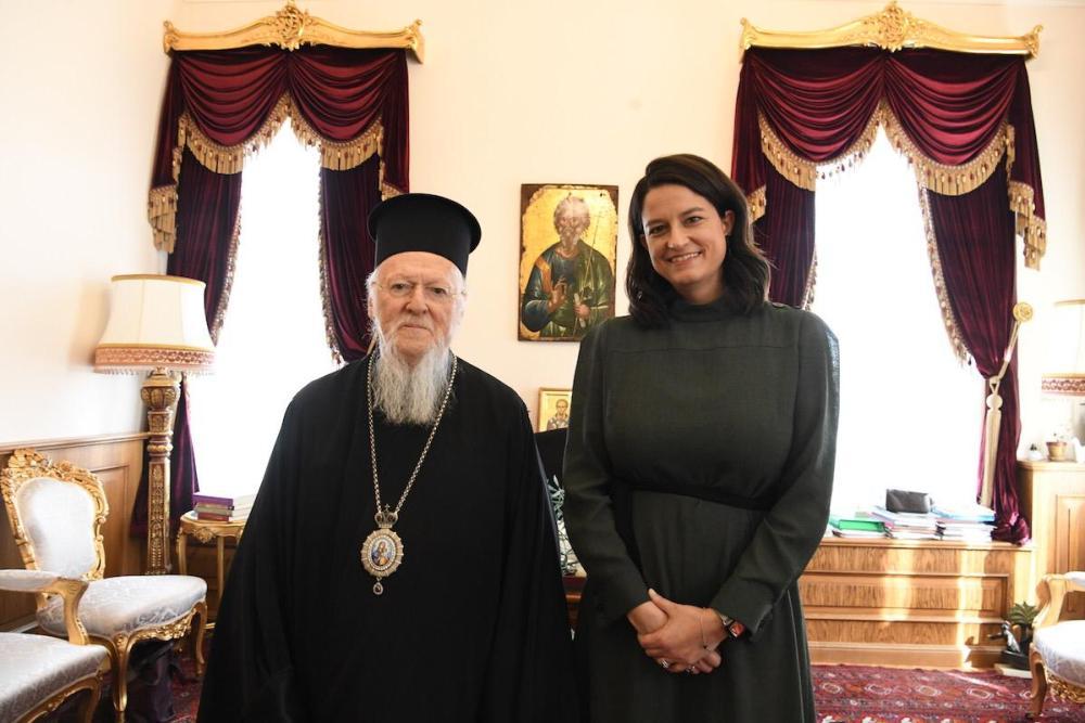 ΝΚ Οικουμενικός Πατριάρχης Βαρθολομαίος