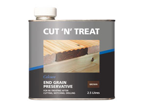 Ancillary Products Cut End Treatment Minera Roof Trusses