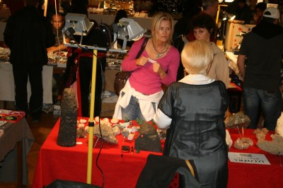 Mineral expo Pula 2014, na štandu