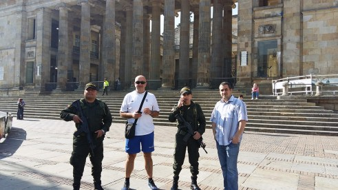 Policija u Bogoti