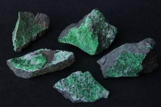 zeleni granat Uvarovit