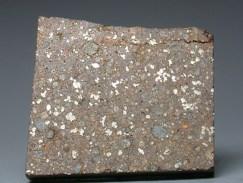 Prerez na kamenom meteoritu