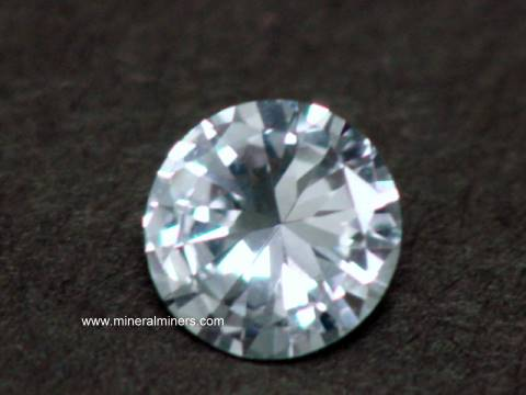White Sapphire Gemstones Natural White Sapphire Gems