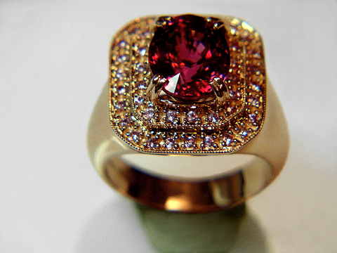 Rubellite Tourmaline Jewelry Natural Color Pink Red