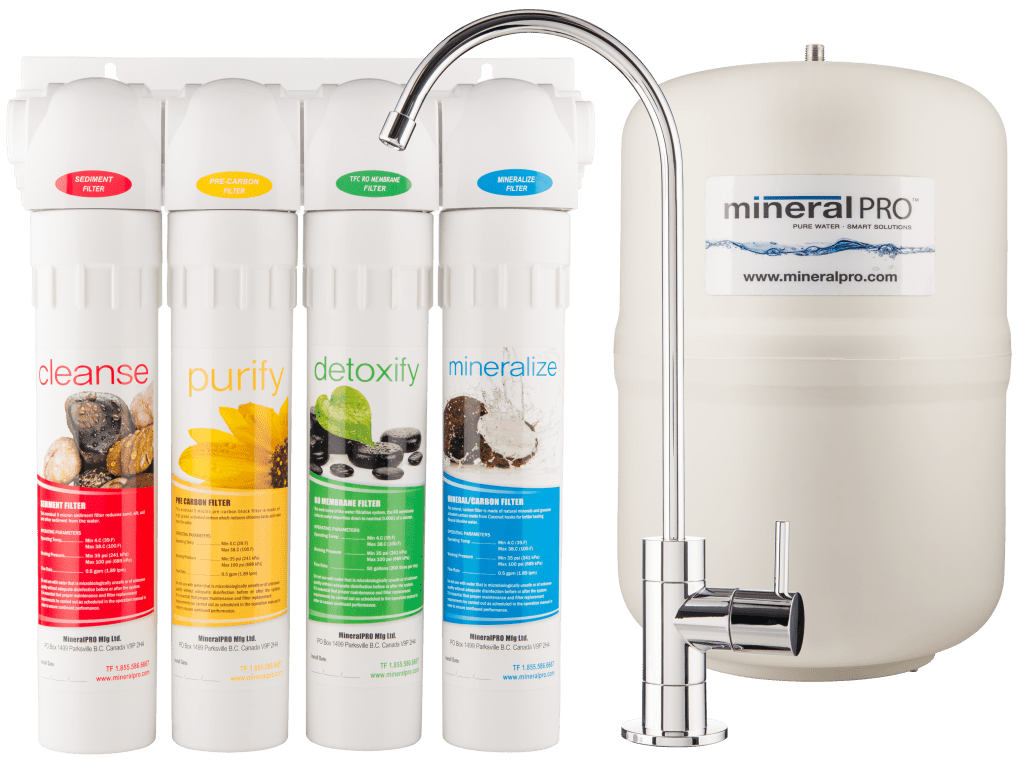 reverse osmosis system mineral pro