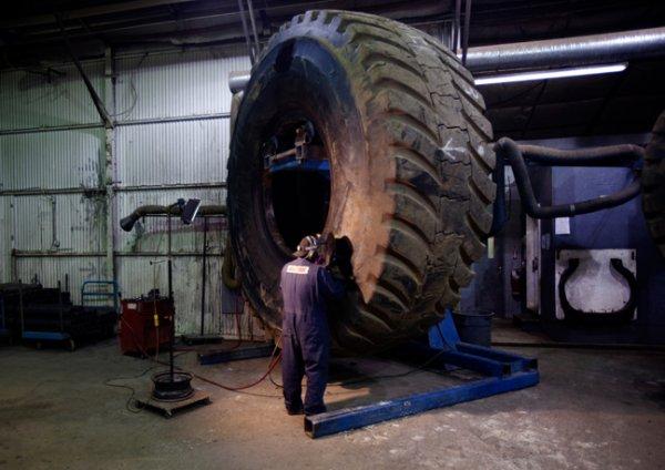 Kal Tire inauguró nueva planta de reparación de neumáticos en La Negra, Antofagasta