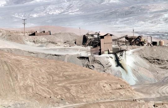 Enami presenta una pérdida operacional de US$49,9 millones a septiembre 2015