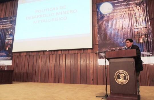 Bolivia considera plan de desarrollo minero metalúrgico de 2015 a 2019