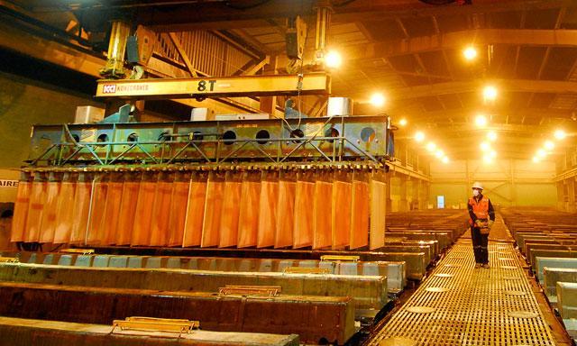 Producción de cobre de Antofagasta Minerals incrementó 7,1% durante primer semestre del año