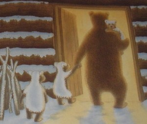 snow bears inside