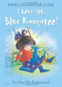I love you blue kangaroo